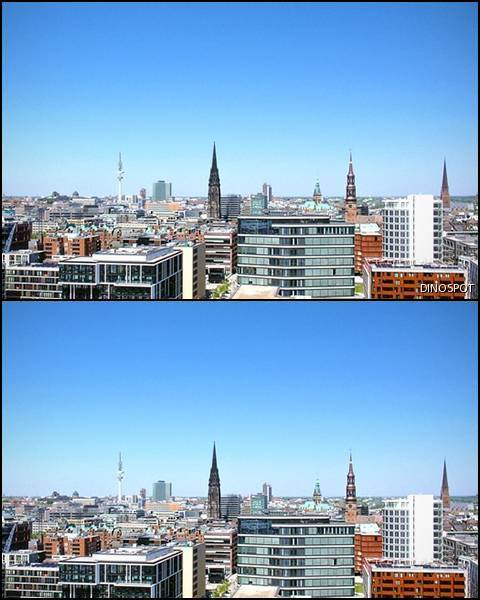 Spot One Difference:27 Hamburg Skyline